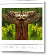 Nature In Abstract 4 Poster Metal Print