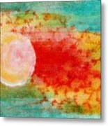 Nature In Abstract  Metal Print