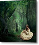 Nature Is Her Adornment Metal Print