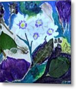 Nature Ll  Collage Metal Print