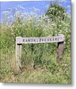 Nature Reservoir.denmark Metal Print