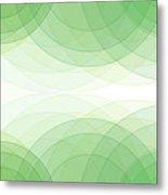 Nature Semi Circle Background Horizontal Metal Print