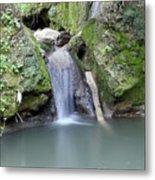 Nature Spring Scene Creek Metal Print