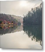 Nature Views Near Chimney Rock And Lake Lure Metal Print
