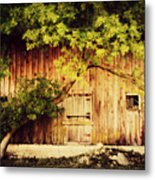 Natures Awning Metal Print