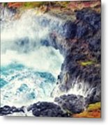 Natures Cauldron Metal Print