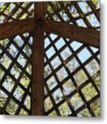 Nature's Cross Metal Print