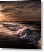 Natures Drama  Metal Print by Kim Loftis