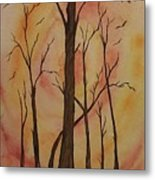 Natures Guardian Metal Print by Ginny Youngblood