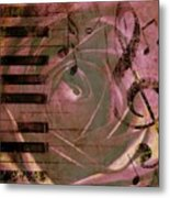 Natures Music Metal Print by Cathie Tyler
