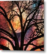 Nature's Stained Glass Metal Print