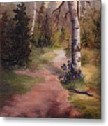 Natures' Trail Metal Print