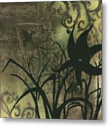 Natures Whimsy 6 By Madart Metal Print