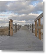 Nauset Winter Metal Print
