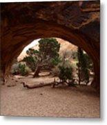 Navajo Arch Metal Print