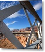 Navajo Bridge Metal Print