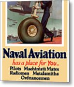Naval Aviation Has A Place For You Metal Print