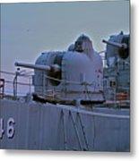 Naval Gun Metal Print