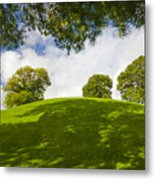 Navan Fort Metal Print