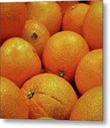 Navel Oranges Metal Print