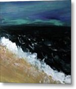 Navy Blue Ocean Metal Print