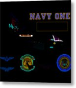 Navy One Metal Print