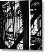 Navy Pier Grand Ballroom Metal Print