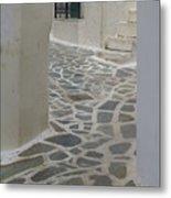 Naxos Path Metal Print