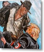 Nazis. I Hate Those Guys. Metal Print