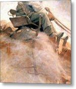 N.c. Wyeth: Ore Wagon Metal Print