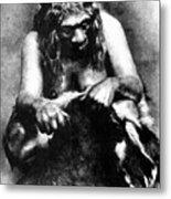 Neanderthal Woman Metal Print