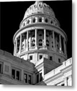 Near Infrared Image Of The Texas State Capitol Metal Print