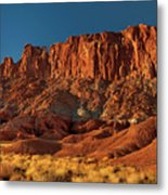 Near The Fluted Wall In Capitol Reef National Park Utah Metal Print