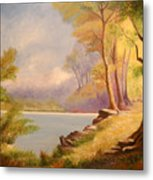Near The Lake Metal Print