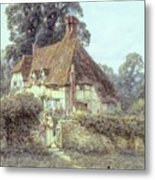 Near Witley Surrey Metal Print by Helen Allingham
