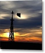 Nearing The End H A Metal Print