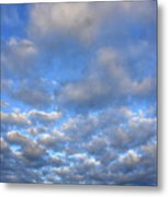 Nebraskan Altocumulus Clouds Metal Print