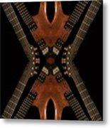 Necking Guitars Metal Print