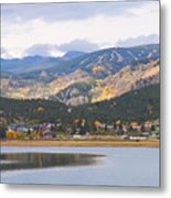 Nederland Colorado Scenic Autumn View Boulder County Metal Print