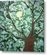 Ned's Garden The Right Tree Metal Print