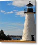 Neds Point Light Metal Print