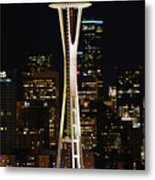 Needle At Night Metal Print