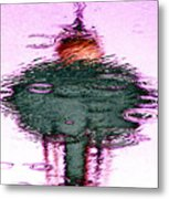 Needle In A Raindrop Stack 2 Metal Print