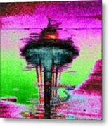 Needle In A Raindrop Stack Metal Print