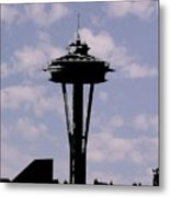Needle In The Clouds Metal Print