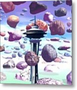 Needle Rocks Metal Print