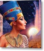 Nefertiti Variant 5 Metal Print