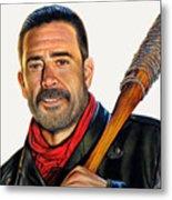 Negan - The Walking Dead Metal Print