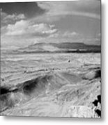Neghev Desert Rainbow 1 Metal Print