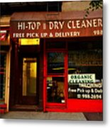Neighborhood Shop - Dry Cleaners Metal Print